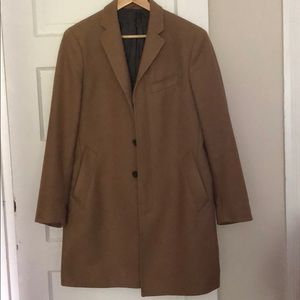 Banana Republic Tan Overcoat Men's Medium